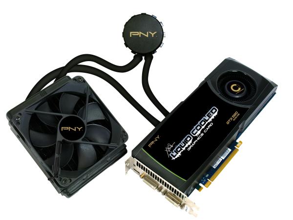PNY Liquid Cooled GTX 580