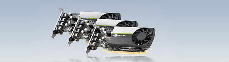 NVIDIA T1000, T600, and T400 Launched