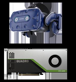 HTC Vive Pro NVIDIA Quadro RTX 4000