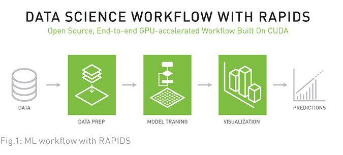 Data Science Workflow with Rapids