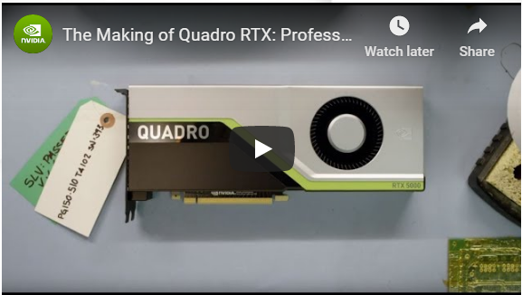 The Making of NVIDIA Quadro RTX